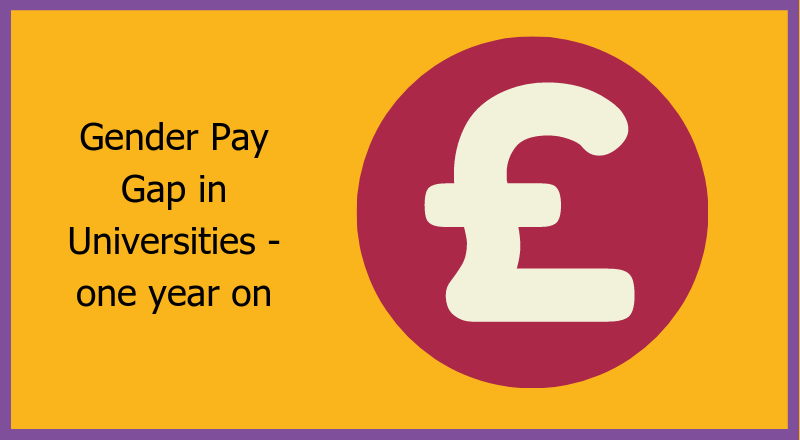 Gender Pay Gap in Universities - one year on