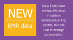 EMR data shows a fall in carbon emissions in HE, but more commitment needed