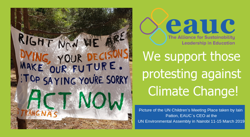 EAUC supports Climate Action Strikes