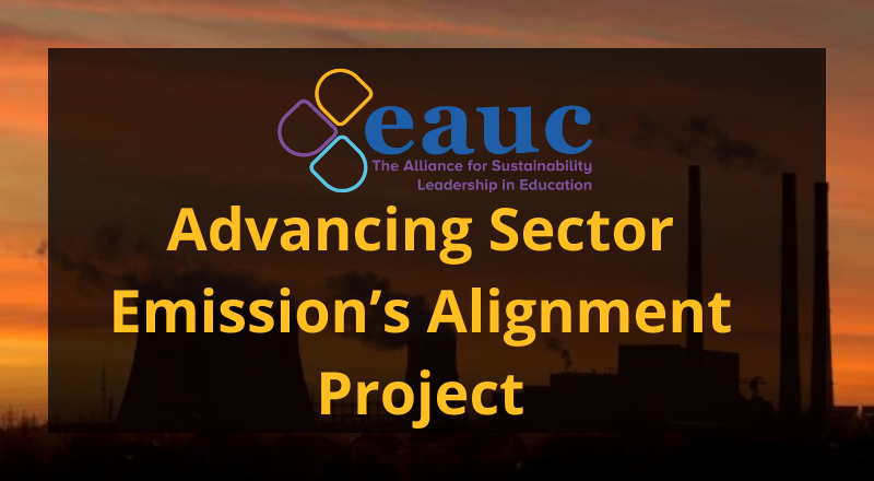 Advancing Sector Emissions' Alignment Project
