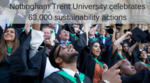 Nottingham Trent University records 63,000 positive sustainability and wellbeing actions