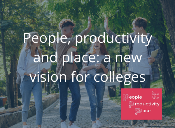 Vision for the future of colleges launched by Independent Commission