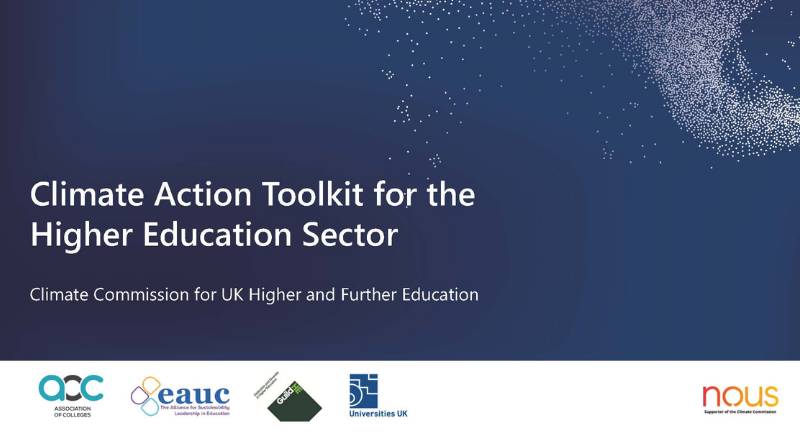 HE Climate Action Toolkit launched