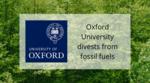 Oxford University announces fossil fuel divestment
