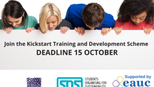 Kickstart for Sustainability in Tertiary Education
