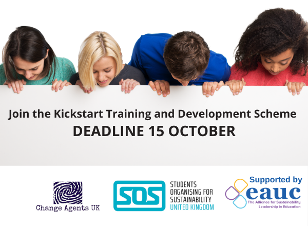 Kickstart for Sustainability in Tertiary Education