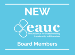 Two new board members elected during EAUC AGM