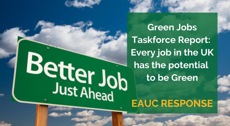 Green Jobs Taskforce Report