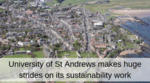 University of St Andrews signs SDG Accord and commits to slashing carbon footprint
