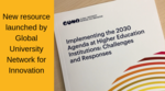 Implementing the SDGs at Higher Education Institutions Challenges and Responses