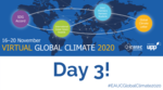 Global Climate Conference - Day 3: Student engagement and climate justice