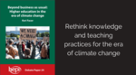 Higher education in the era of climate change image #1