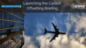 Universities and Colleges consider carbon offsetting in move to net-zero