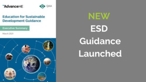 New guidance on Education for Sustainable Development (ESD)
