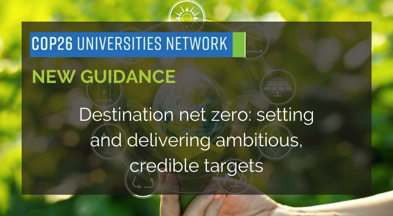 COP26 Universities Network - March Briefing