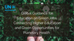 Green Jobs for Youth
