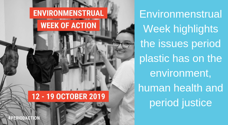 Environmenstrual week highlights sanitary plastic issue