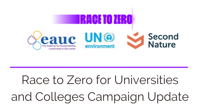 Universities and Colleges join the Race to Zero ahead of COP26