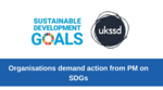 Organisations demand action from PM on SDGs