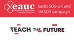 EAUC backs Teach the Future campaign image #1