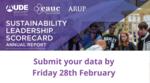 Deadline to submit your Sustainability Leadership Scorecard data image #1