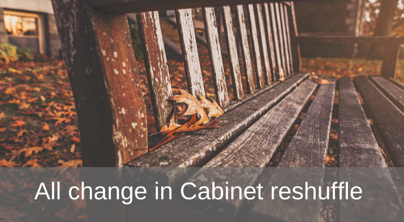 Cabinet reshuffle and COP26 president (re)announced