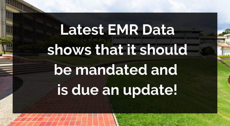 Reflections on the latest EMR data