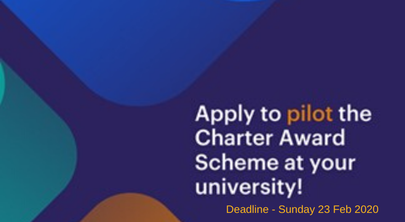 Apply to pilot the Charter Award Scheme at your university