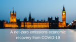 A net-zero emissions economic recovery from COVID-19