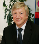 Professor Neil T Gorman, Vice-Chancellor of Nottingham Trent University