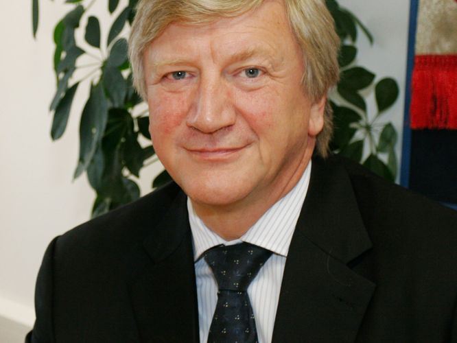 Professor Neil T Gorman, Vice-Chancellor of Nottingham Trent University