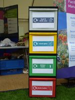 The recycling module with a small footprint!