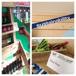 "Opening of the ""Little Green Shop"""