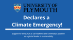 University of Plymouth declares a climate emergency