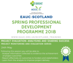 Project Evaluation: Analysing and Sharing Success workshop