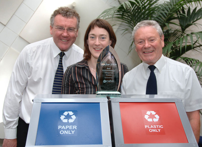 Receiving a reward for the recycling scheme