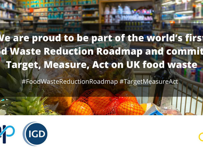 A world first: UK food industry commits to a landmark roadmap to halve food waste