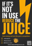 Reduce the Juice - Bring a new sustainability engagement programme into your halls of residence!