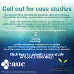 EAUC-Scotland launch UK-wide workshop series to engage Professional Departments