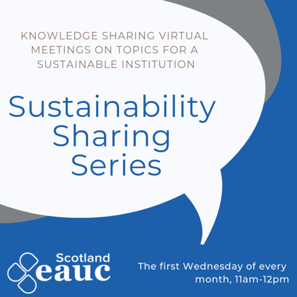Sustainability Sharing Series: Engaging students at Green Week and beyond