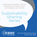 Sustainability Sharing Series: Virtual learning image #1