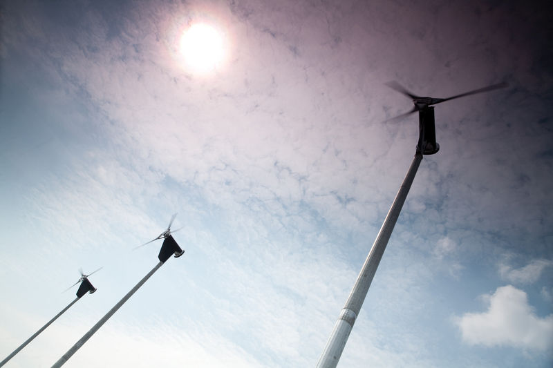 Sheffield City College Wind Turbines