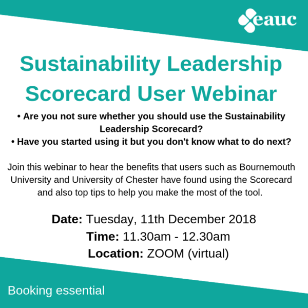 The Sustainability Leadership Scorecard