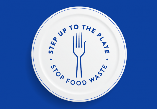 We have pledged to Step Up To The Plate and reduce food waste (DEFRA and WRAP)