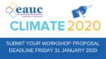 Submit your workshop proposal for CLIMATE 2020 image #1