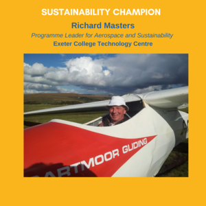 Richard Masters - Programme Leader for Aerospace and Sustainability