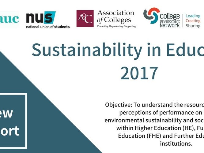 New report: University and College leaders recognise sustainability as priority but fail to deliver