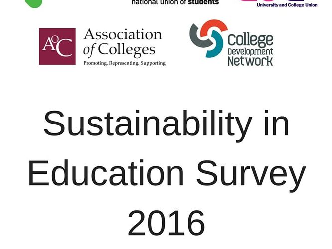 2016: The State of Sustainability in Tertiary Education