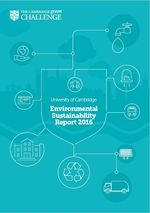 University of Cambridge publishes its first Environmental Sustainability Report