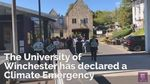University of Winchester declares climate emergency